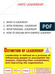 Leadrrship in Organization