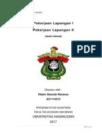 RMK Audit Internal Pekerjaan Lapangan