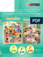 Guia de Orientación Matemática-Comunicación 1, 2 y 3 Grado