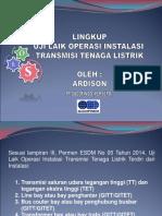 Presentasi Lingkup Uji Laik Operasi Transmisi