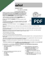 Examen Primer Bimestre 5° Grado Primaria