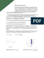Convergencia de Serie de Fourier