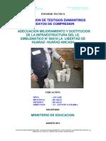 Informe de Extracciones Diamantinas