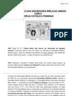 TR-Sociedades Bíblicas Unidas e a amizade como o papa