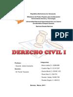 Derecho Civil Trabajo 1
