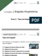 7. Tipos de Brigadas