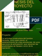 03 Genesis Del Proyecto