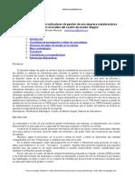 Diseno Sistema Indicadores Empresa Metalmecanica