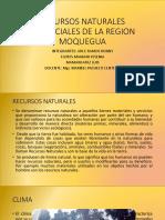 Recursos Naturales Potenciales de La Region Moquegua