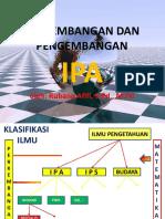 Pert-4 Perkembangan Dan Pengembangan IPA