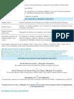 Clasificación y Diagnóstico de La Diabetes Mellitus