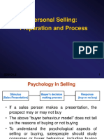 personal selling (preparation and process) .ppt