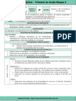 Plan 2do Grado - Bloque 4 Exploración de La Naturaleza (2016-2017)