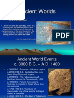 Ancient Worlds Introduction PPT PDF