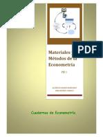 Materiales y Métodos de La Econometría - PIE 1
