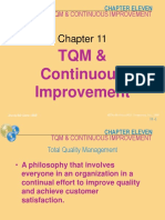 5 Chapter 11 TQM and Continous Improvement
