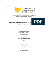 Artigo-Development of Hemp Oil Based Bioresins