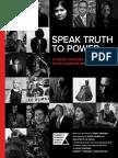 Curriculum Speak Truth to Power