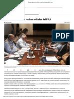 Observadores de OEA Reciben a Aliados Del FSLN