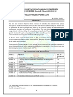 7.1 Intellectual Property Law