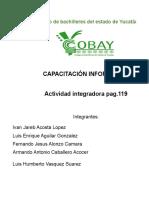 Tarea Integradora Pág.119 Verde