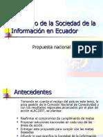 El cambio de la Sociedad de la Información en Ecuador