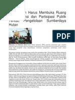 Berita Tentang Deforestasi Sulawesi