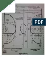 BASKETBALL CoURT Dimension