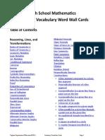 Math Vocab Cards Geom