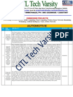 Ieee Papers on Automotive Embedded Systems
