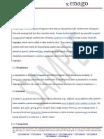 ENAGO Copy Editing Sample Linguistics