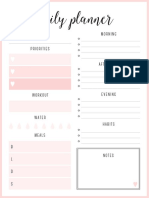 Coral - A4 - Daily Planner (1)