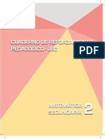 Matemática 2 Cuaderno de Reforzamiento Pedagógico - JEC