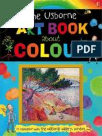 Art Book About Colour Usborne