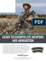 TS US CT Weapons and Ammunition Datasheet