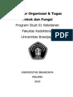 Struktur Organisasi & Tugas Pokok Dan Fungsi