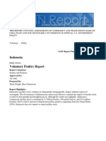Voluntary Poultry Report Jakarta Indonesia 1-13-2017