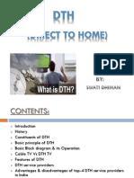 presentation on dth