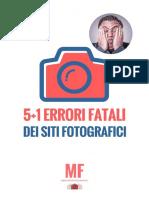 Sito Fotografico Errori Fatali