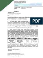 Bil 01 - Surat Memohon Mengeluarkan Wang Untuk Pembelian Kertas