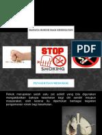 Bahaya Rokok Bagi Kesehatan