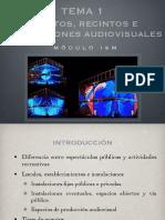 1. Eventos, Recintos e Instalaciones AV