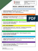Libros de Texto Eoi Orihuela 2017-2018 Ingles
