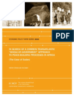 """In Search of a Common Transatlantic """"Whole-of-Government"""" Approach to Peace-Building Processes in Africa"""