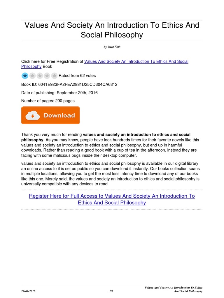 what is ethics pdf
