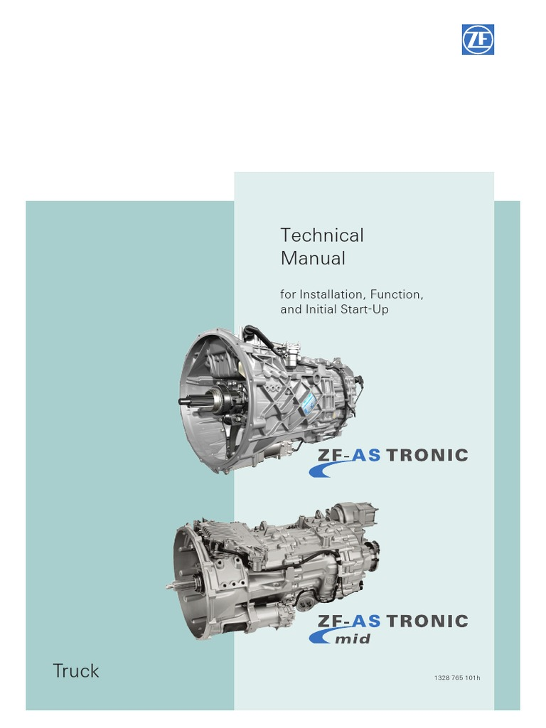 329077038-ZF-AS-TRONIC-Technical-Manual pdf | Manual