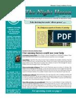 Oct 2009 Night Heron Newsletters Manatee County Audubon Society