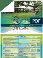 Programa Congreso Cientifico 2017 Oficial