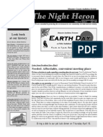 Apr 2009 Night Heron Newsletters Manatee County Audubon Society