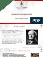 Ciudadanía y Globalización